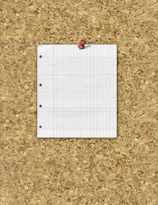 Free Corkboard Royalty Free Stock Photography - 14237307