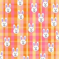 Background With Bunnies Stock Photography