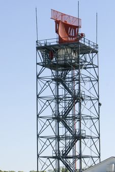 Air Traffic Controll Radar Royalty Free Stock Photo