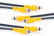 Free Video-cord Stock Photography - 14239052