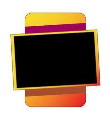 Free Blank Frame On White Royalty Free Stock Photo - 14239175