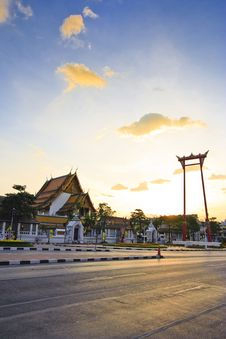 Free Thai Temple Royalty Free Stock Photography - 14239337