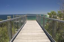 Free Wooden Observation Deck Royalty Free Stock Image - 14239416