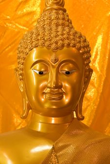 Free Face Of Buddha Stock Photo - 14239950