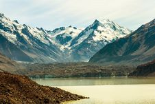 Free Tasman Glacier Stock Image - 142358861