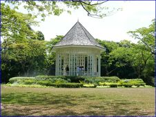 Free Botanic Gardens - Band Stand Royalty Free Stock Photo - 142358935