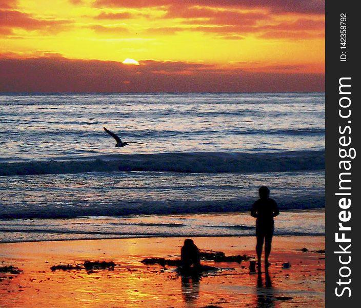 Sunsets Farewell Kiss to Summer, San Diego, California