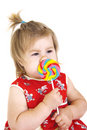 Free Little Girl With Lollipop Stock Photography - 14244502