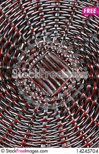 Texture of rattan Stock Photo