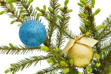 Free Christmas  Balls Stock Photo - 14242420