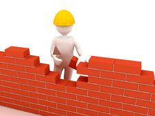Free Brick Wall Royalty Free Stock Photos - 14242638
