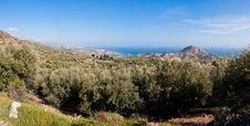 Free Panoramic View On The Road To Ierapetra Royalty Free Stock Photo - 14243505