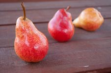 Free Red Pears Stock Photo - 14243800