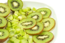 Free Kiwi Slices Royalty Free Stock Image - 14243856