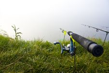 Fishing Pole Royalty Free Stock Images