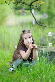Free Thoughtful Girl Royalty Free Stock Photos - 14244518