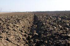 Free Plowed Field Stock Images - 14245264