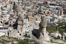 Free Urban Landscape, Mountains Cappadocia Royalty Free Stock Images - 14245489