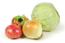 Lots Of Different Vegetables Stock Photos