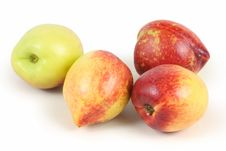 Free Peaches Nectarine Royalty Free Stock Photography - 14245757