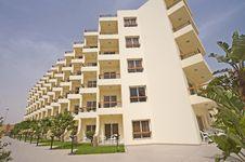 Free Hotel Apartment Block Stock Image - 14245891