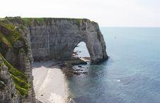 Étretat, Normandy, France Royalty Free Stock Photo
