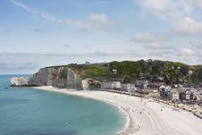 Free Étretat, Normandy, France Royalty Free Stock Photography - 14246187
