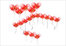 Valentines Greeting Royalty Free Stock Photos
