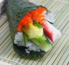 Free Californian Roll Royalty Free Stock Photo - 14246335
