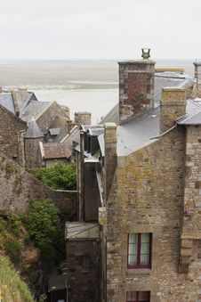 Free Mont-Saint-Michel Abbey, Normandy, France Royalty Free Stock Photography - 14246797