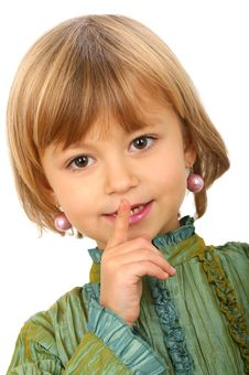 Little Charming Girl Royalty Free Stock Image