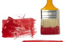 Free Paint Brush With Color Painting Royalty Free Stock Photo - 14247795
