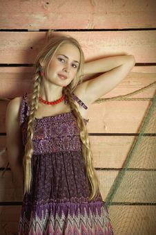 Free Country Girl. Royalty Free Stock Photos - 14247918