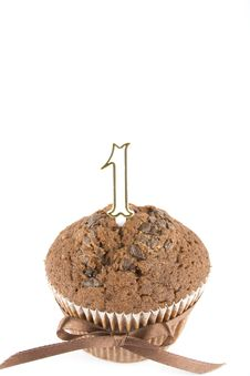 Free One Year Birthday Cake Stock Photo - 14248160