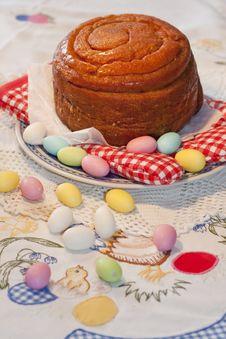 Free Traditional Folar Cake Royalty Free Stock Photography - 14248847