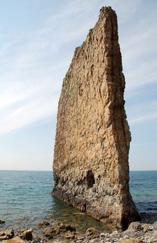 Sail Rock Royalty Free Stock Photo