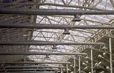 Free Frame Of A Metal Truss Royalty Free Stock Photo - 14249085