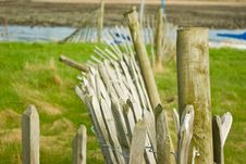 Free Old Damaged Wooden Fence Stock Photography - 14249242