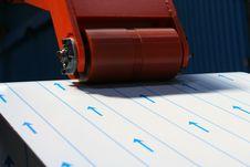 Free Steel Cutting Process Stock Image - 14249311