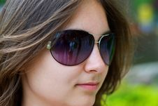 Free Teen Girl In Sunglasses Royalty Free Stock Image - 14249416