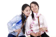 Young Performer Royalty Free Stock Photography