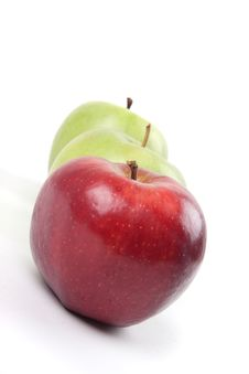 Free Three Apples Stock Image - 14249651