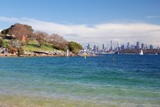 Free Beuatiful View Of Sydney From Lady Bay Stock Images - 14249744