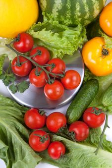 Free Fresh Vegetables Royalty Free Stock Image - 14249866