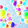 Free Color Lights Background. Royalty Free Stock Photo - 14251005