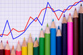 Free Multicolor Pencils On Paper Stock Photos - 14253443