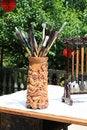 Free Chinese Brush Royalty Free Stock Image - 14254816