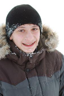 Free Frozen Teenager Royalty Free Stock Photos - 14250608