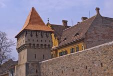 Free Defence Wall And Tower In Sibiu Stock Photos - 14251293