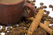 Free Coffee Beans Close-up Stock Photo - 14251300